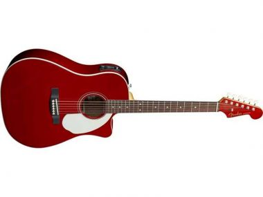 Sonoran™ SCE Cutaway Candy Apple Red Solid Spruce Fishman®