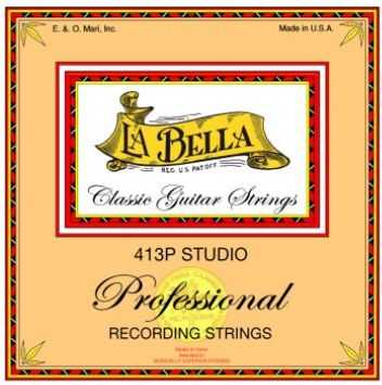 413P Studio nylonové struny