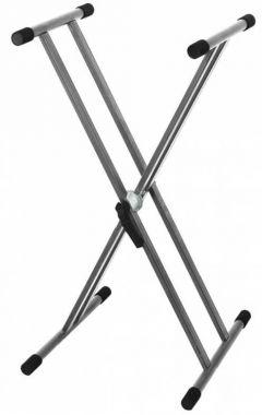GEWA stojánek pro Keyboard Easy Gear System Stříbrno/šedá