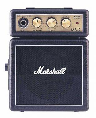 MARSHALL MS-2 kytarové mikrokombo na baterie