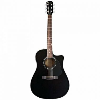 FENDER CD-60CE BK elektroakustická kytara