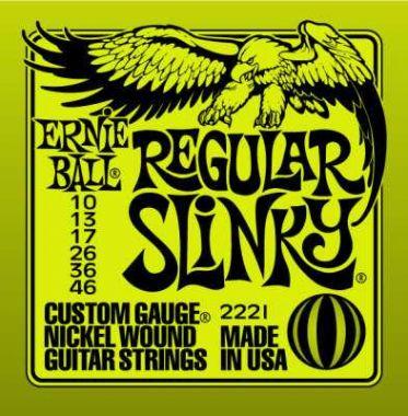 Struny pro elektrickou kytaru Ernie Ball EB 2221