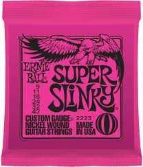 Struny pro elektrickou kytaru Ernie Ball EB 2223