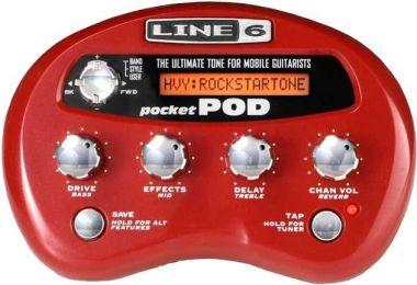 LINE 6 Pocket POD kytarový multiefekt
