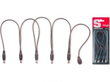 Stagg SPS-DC-5M1F  kabel napájecí DC 5x 2,1mm