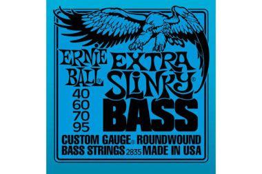 Ernie Ball 2835 struny na baskytaru Extra Slinky Bass 40-95