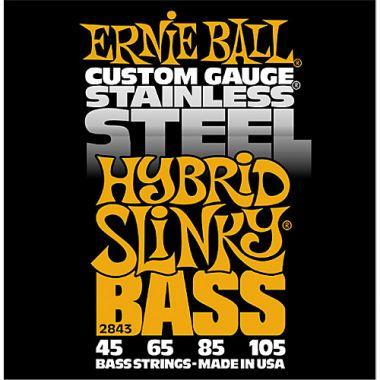 Ernie Ball EB 2843 struny na  baskytaru Hybrid Slinky Bass 45-105