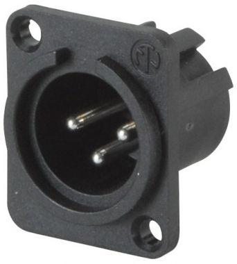 NEUTRIK NC3MPP  XLR panelový konektor