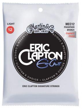 MARTIN MEC 12  Eric Clapton 92/8 Phosphor Bronze Light