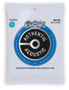MA 130 MARTIN Authentic SP Silk & Steel Custom struny na kytaru