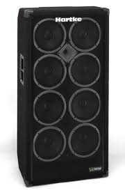 HARTKE VX 810 basový reprobox