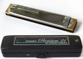 3521 Premium 21 foukací harmonika