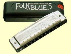 1610F Folk B. E foukací harmonika