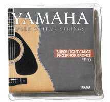 Struny kovové pro akustickou kytaru Yamaha FP 10