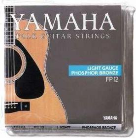 Struny kovové pro akustickou kytaru Yamaha FP 12