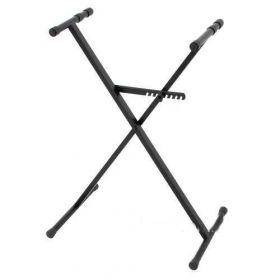 Klávesový stojan X jednoduchý, černý STIM