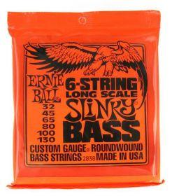 Ernie Ball  EB 2838 niklové struny na 6-strunnou basovou kytaru