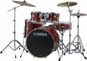 YAMAHA Stage Custom Birch SBP2F5CR6W Cranberry Red