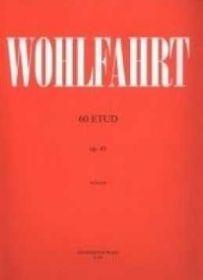 Etudy Wohlfahrt - 60 etud