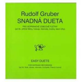 Rudolf Gruber: Snadná dueta pro flétny