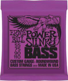 Ernie Ball 2831 struny na baskytaru Power Slinky Bass 55-110