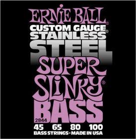 Ernie Ball EB 2844 struny na  baskytaru Super Slinky Bass 45-100