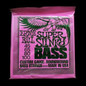 Ernie Ball EB 2834 struny na  baskytaru Super Slinky Bass 45-100
