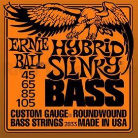 Ernie Ball EB 2833 struny na  baskytaru Hybrid Slinky Bass 45-105