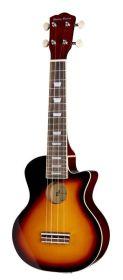Harley Benton UK-L100E BK  sopranové ukulele