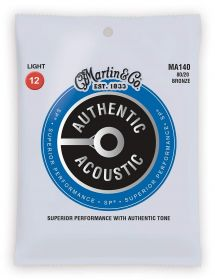 MA 140 MARTIN Authentic SP 80/20 Bronze Light