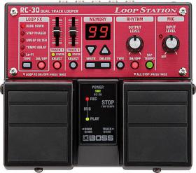 BOSS RC-30 Loop Station efekt