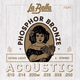 La Bella 7GPT struny . kytaru