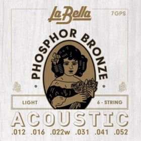 La Bella 7GPS struny na kytaru