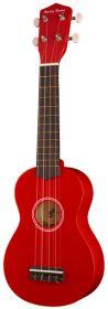 Harley Benton UK-12 Red sopranové ukulele