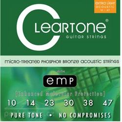 Cleartone 7410 PhBr - kovové struny pro akustickou kytaru (ultra light) 10/47