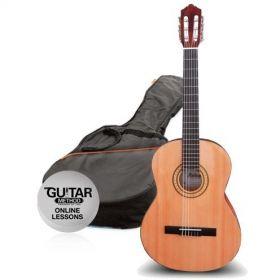 Klasická kytara paket 3/4 Ashton SPCG 34 BR Pack Molina