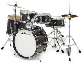 Millenium Focus Junior Drum Set Black dětské bici