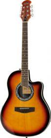 Harley Benton HBO-600SB kytara akustická s ozvučením