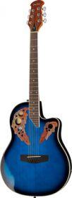 Harley Benton HBO-850 Blue kytara akustická s ozvučením