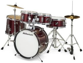 Millenium Focus Junior Drum Set Black dětské bici