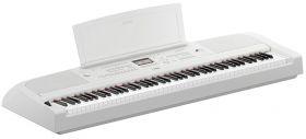 Yamaha DGX 670 WH bílá digitální pano s doprovody