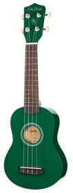 Harley Benton UK-12 Green sopranové ukulele