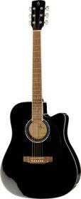 Harley Benton CLD-60SCE BK Custom Line kytara akustická s ozvučením