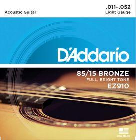 D´ADDARIO EZ910 kovové struny pro akustickou kytaru