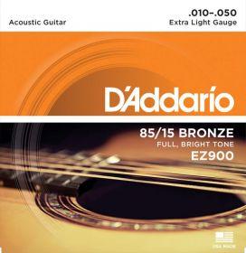 D´ADDARIO EZ900 kovové struny pro akustickou kytaru