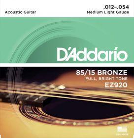 D´ADDARIO EZ920 kovové struny pro akustickou kytaru