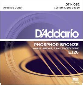 D´ADDARIO EJ26 kovové struny pro akustickou kytaru 0,11