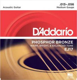 D´ADDARIO EJ17 kovové struny pro akustickou kytaru 0,13