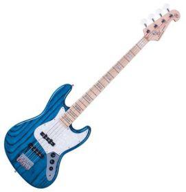 SX SJB75 Trans Blue elektrická baskytara