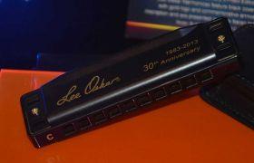 1910-C BLK Lee O foukací harmonika